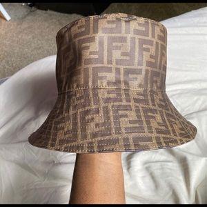 100% authentic Fendi Reversible Bucket Hat